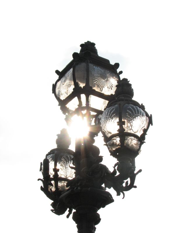 Paris, pont ALexandre III