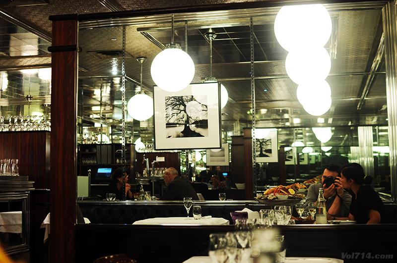 Rendez vous la brasserie du lutetia vol 714 blog voyage - Brasserie lutetia menu ...