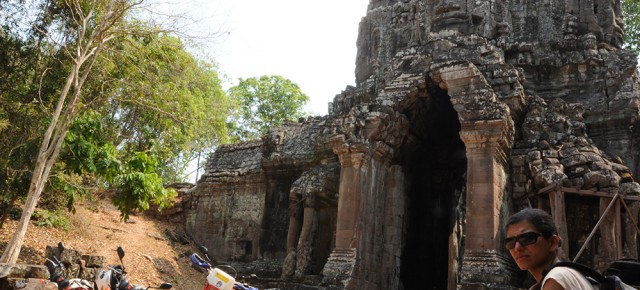 Angkor Thom, sur la route du Bayon