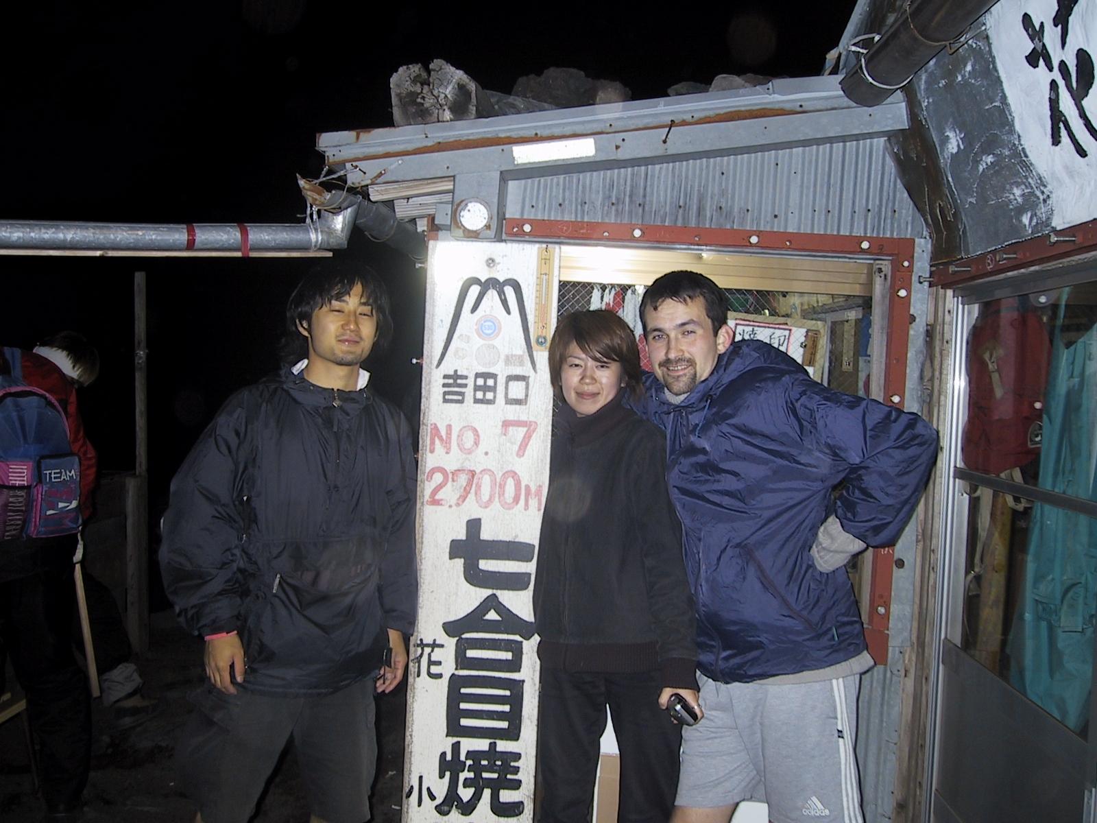 ascension du mont fuji au Japon