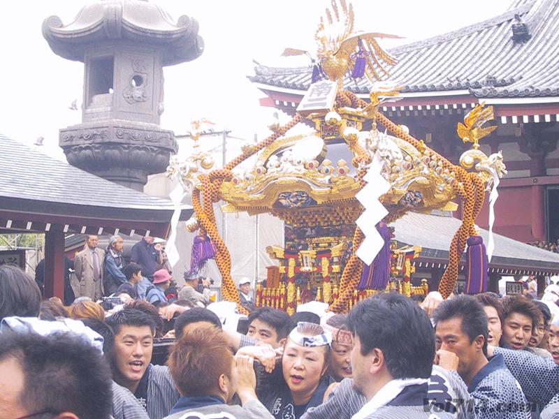 Festival Sanja Masturi - Sancturaire Asakusa - Tokyo