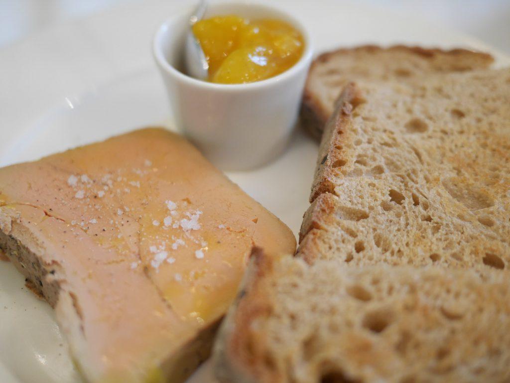 Foie gras au Tournesol
